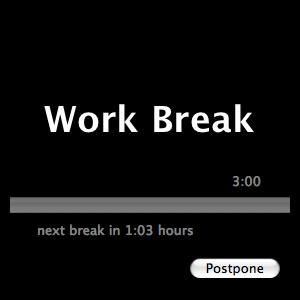 AntiRSI Work Break