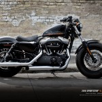 Harley-Davidson Forty-Eight in Vivid Black with 1200cc Engine