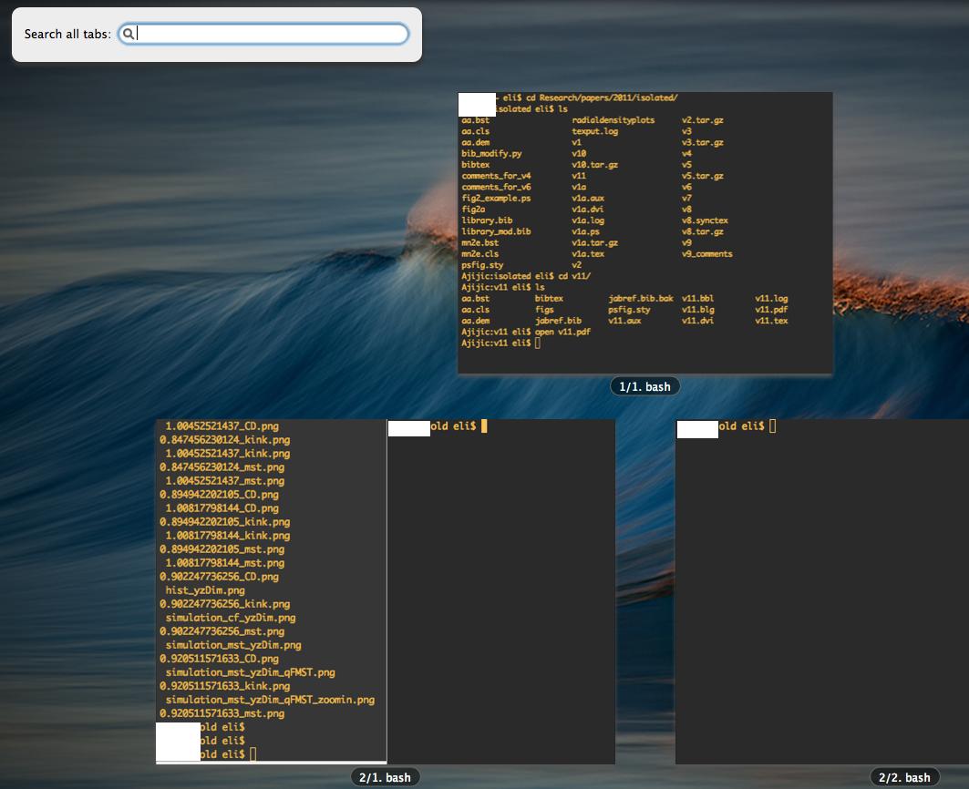 Iterm2 Terminal Windows