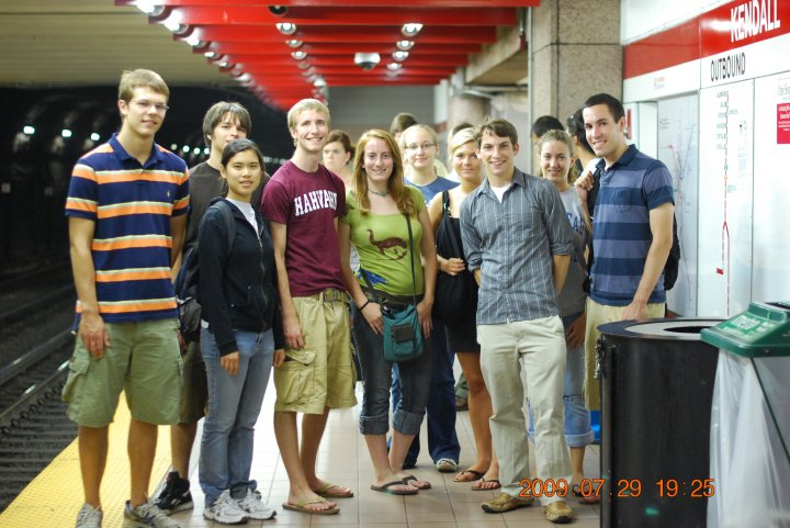The Smithsonian Astrophysical Observatory 2009 REU cohort.